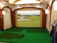 瑞典客户安装我司模拟高尔夫